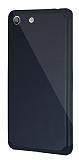Dafoni Sony Xperia M5 Slim Power Ultra Koruma Siyah Kılıf