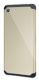 Dafoni Sony Xperia M5 Slim Power Ultra Koruma Gold K�l�f