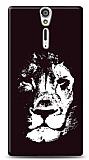 Sony Xperia S Black Lion Kılıf