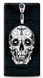 Dafoni Sony Xperia S Black Skull K�l�f