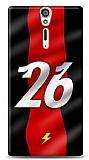 Sony Xperia S Kırmızı Şimşekler Kılıf