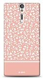 Sony Xperia S Pink Flower Kılıf
