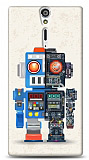 Dafoni Sony Xperia S Robot K�l�f