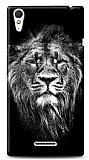 Sony Xperia T3 Black Lion Kılıf