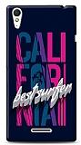 Sony Xperia T3 California Surfer Kılıf