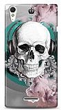 Sony Xperia T3 Lovely Skull Kılıf