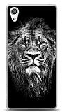 Sony Xperia X Black Lion Kılıf