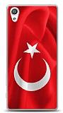 Sony Xperia XA Türk Bayrağı Kılıf
