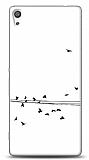 Dafoni Sony Xperia XA Ultra Flying Birds Kılıf