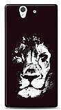 Sony Xperia Z Black Lion Kılıf