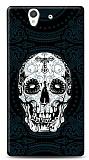 Dafoni Sony Xperia Z Black Skull K�l�f