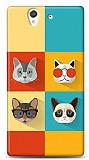Dafoni Sony Xperia Z Four Cats K�l�f