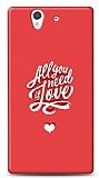 Dafoni Sony Xperia Z Need Love K�l�f