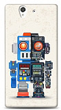 Dafoni Sony Xperia Z Robot K�l�f
