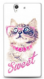 Dafoni Sony Xperia Z Sweet Cat K�l�f