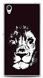 Sony Xperia Z1 Black Lion Kılıf
