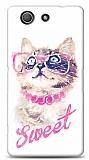 Sony Xperia Z3 Compact Sweet Cat Kılıf