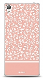 Sony Xperia Z3 Pink Flower Kılıf