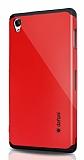 Dafoni Sony Xperia Z3 Slim Power Kırmızı Kılıf