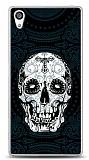 Sony Xperia Z5 Black Skull Kılıf
