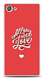 Dafoni Sony Xperia Z5 Compact Need Love Kılıf