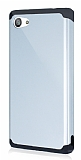 Dafoni Sony Xperia Z5 Compact Slim Power Ultra Koruma Silver Kılıf