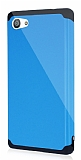Dafoni Sony Xperia Z5 Compact Slim Power Ultra Koruma Mavi Kılıf