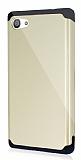 Dafoni Sony Xperia Z5 Compact Slim Power Ultra Koruma Gold K�l�f