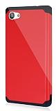 Dafoni Sony Xperia Z5 Compact Slim Power Ultra Koruma Kırmızı Kılıf