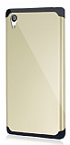 Dafoni Sony Xperia Z5 Slim Power Ultra Koruma Gold K�l�f