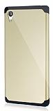 Dafoni Sony Xperia Z5 Slim Power Ultra Koruma Gold Kılıf