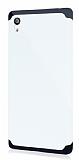 Dafoni Sony Xperia Z5 Slim Power Ultra Koruma Beyaz Kılıf