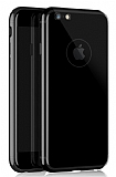 Dafoni Thin Air iPhone 7 / 8 Kamera Korumalı Jet Black Rubber Kılıf