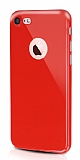 Dafoni Thin Air iPhone 7 Kamera Korumalı Kırmızı Rubber Kılıf