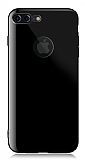 Dafoni Thin Air iPhone 7 Plus Kamera Korumalı Jet Black Rubber Kılıf