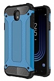 Tough Power Samsung Galaxy J7 Pro 2017 Ultra Koruma Mavi Kılıf