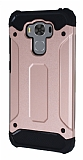 Dafoni Tough Power Asus ZenFone 3 Max ZC553KL Ultra Koruma Rose Gold Kılıf