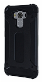 Dafoni Tough Power Asus ZenFone 3 Max ZC553KL Ultra Koruma Siyah Kılıf