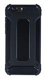Dafoni Tough Power Asus ZenFone 4 ZE554KL Ultra Koruma Siyah Kılıf