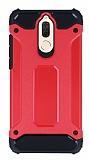 Tough Power Huawei Mate 10 Lite Ultra Koruma Kırmızı Kılıf