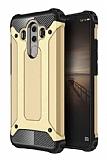 Dafoni Tough Power Huawei Mate 10 Pro Ultra Koruma Gold Kılıf