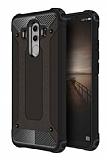 Dafoni Tough Power Huawei Mate 10 Pro Ultra Koruma Siyah Kılıf