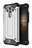 Dafoni Tough Power Huawei Mate 10 Pro Ultra Koruma Silver Kılıf