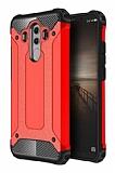 Dafoni Tough Power Huawei Mate 10 Pro Ultra Koruma Kırmızı Kılıf