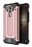 Dafoni Tough Power Huawei Mate 10 Pro Ultra Koruma Rose Gold Kılıf