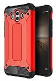 Tough Power Huawei Mate 10 Ultra Koruma Kırmızı Kılıf