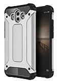 Tough Power Huawei Mate 10 Ultra Koruma Silver Kılıf