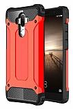 Dafoni Tough Power Huawei Mate 9 Ultra Koruma Kırmızı Kılıf