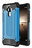 Dafoni Tough Power Huawei Mate 9 Ultra Koruma Mavi Kılıf
