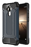 Dafoni Tough Power Huawei Mate 9 Ultra Koruma Siyah Kılıf